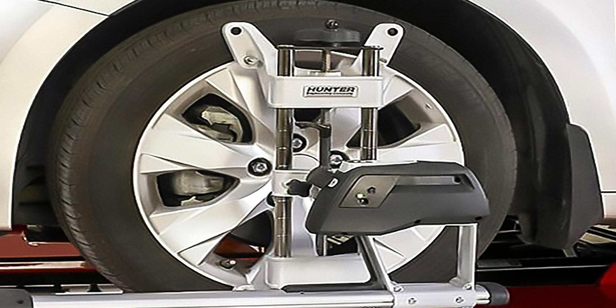 زوایای چرخ های خودرو